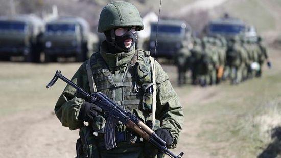在叙俄罗斯士兵(资料图)