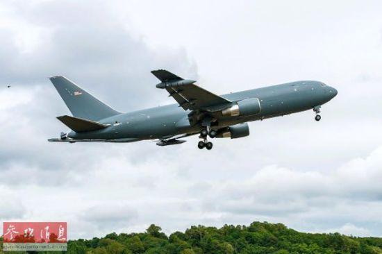 资料图:KC-46空中加油机.-日本购美3架新型空中加油机 总价超50亿