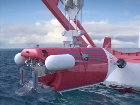 """""""彩虹鱼""""号完成4000米级海试。"""