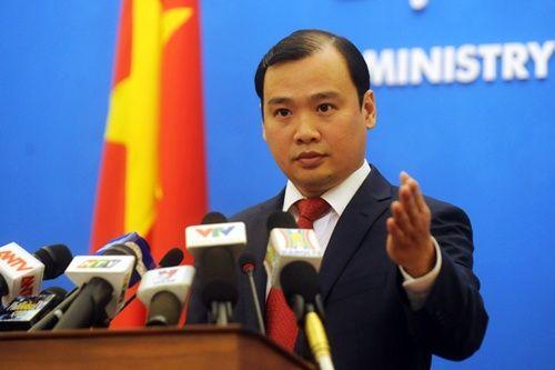 越南外交部发言人黎海平