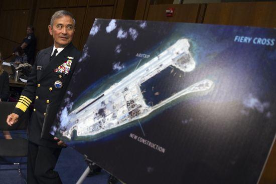 美国太平洋司令部司令哈里・哈里斯海军上将