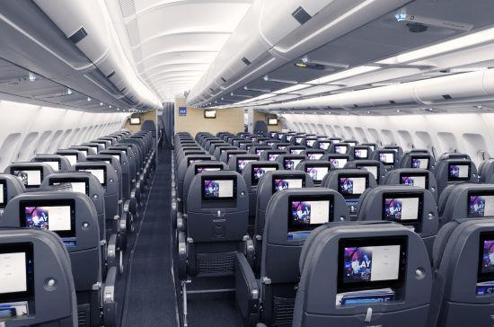 北欧航空的全新客舱产品