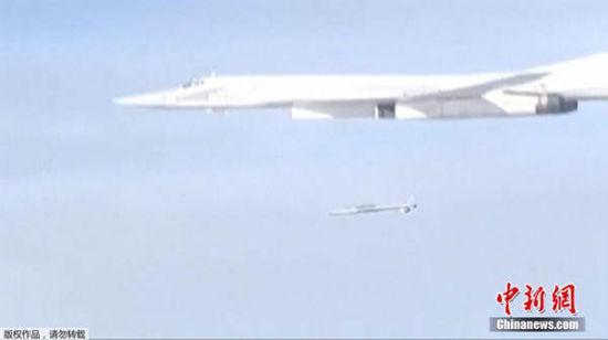 俄公布空袭IS图像