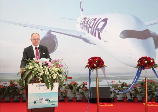芬兰航空公司首席执行官Pekka Vauramo先生