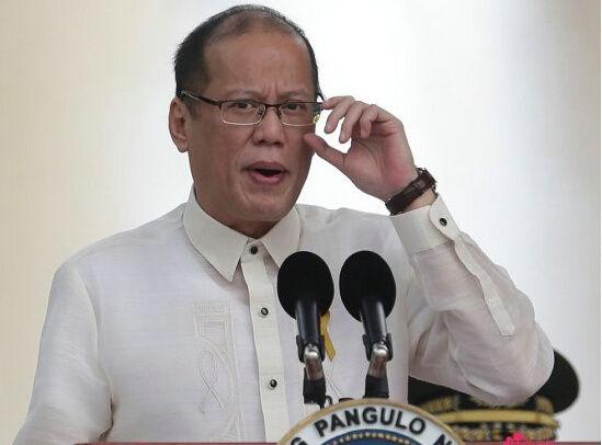 资料图:菲律宾总统阿基诺三世。