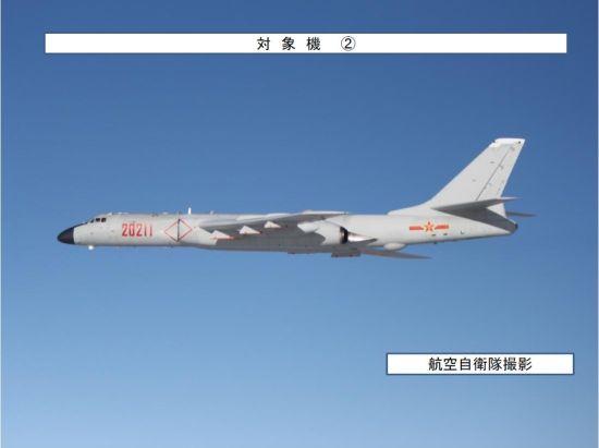 中国空军最大机群警巡东海防识区、进出第一岛链 日机拦截跟拍