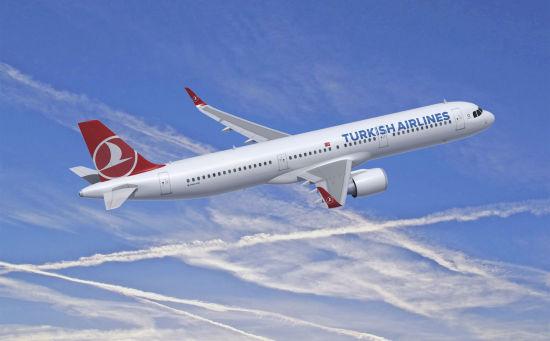 土耳其航空A321neo飞机