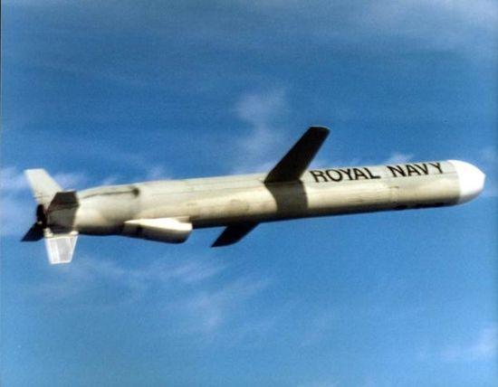 """材料图:""""战斧""""Block IV型攻陆巡航导弹"""