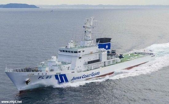 """资料图:日本""""多良间""""号(PL 85)巡逻舰"""