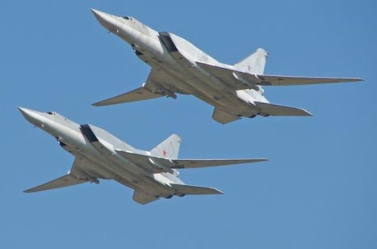 材料图:俄军逆火轰炸机