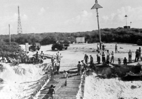 台军早年曾在太平岛兴建过小型码头。