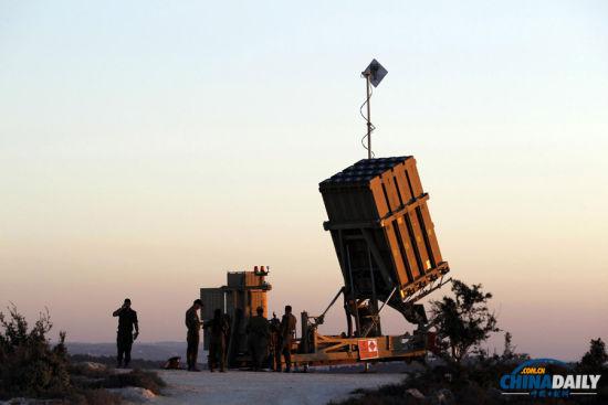 形势危机逼以色列在耶路撒冷部署铁穹防御系统