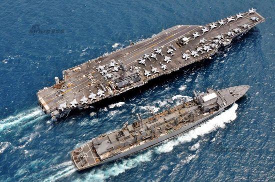 """美国今年8月在关岛美军基地部署3架B-2隐形轰炸机,10月美军最先进的核动力航母""""里根""""号和2架F-22隐形战机将到访韩国。10月10日至25日举办的首尔防务展上,美军将派遣2架F-22隐形战机到访。此外""""全球鹰""""超高空无人侦察机也将赴韩。"""