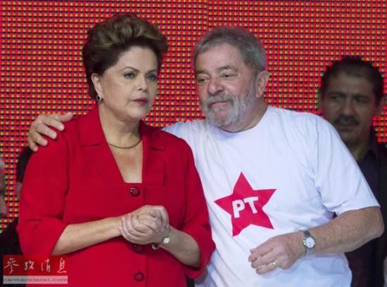 """埃菲社:""""铁娘子""""罗塞夫寻求连任巴西总统"""
