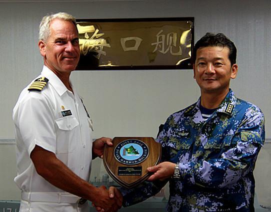 美媒:哪些中国军舰参加了2014环太军演