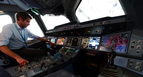 787私人飞机内部