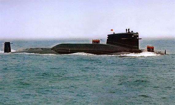 图文:中国海军092夏级核潜艇