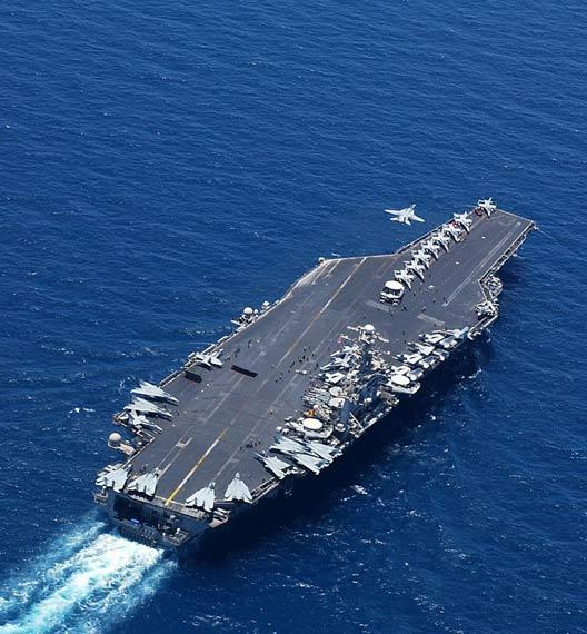 美核动力航母部署日本对中国构成极大威胁(图)