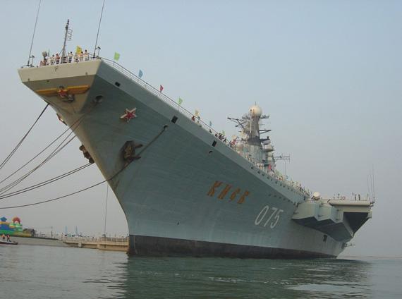 美国记者称中国民众认为中国是强国得有航母