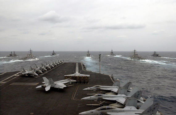 图文:美军航母舰载机