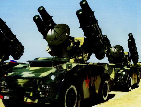 图文:解放军红旗七野战防空导弹特写