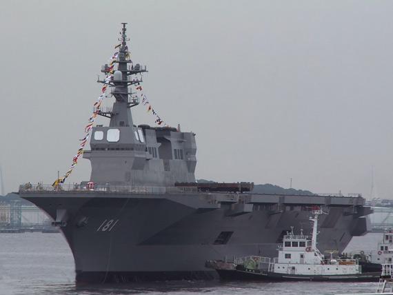 日本最新型日向号直升机母舰战力解析(组图)
