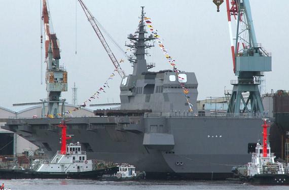 图文:日向号有能力承担对陆攻击和对岸兵力投送
