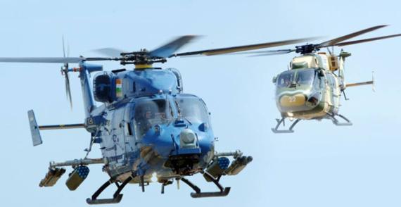 印度称国产直升机有隐形功能军方订购159架