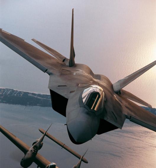 击落猛禽:分析美军F-22A战机隐身缺陷(组图)