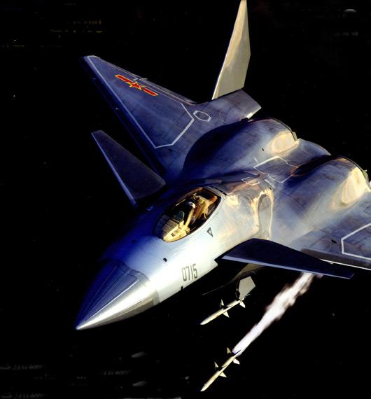 中国空军如对抗F-22必须装备同类型战机(组图)