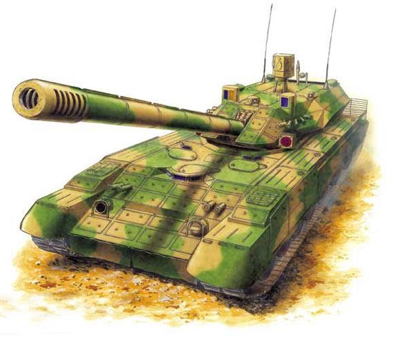 俄罗斯高调宣布新型坦克09年将装备俄军(图)