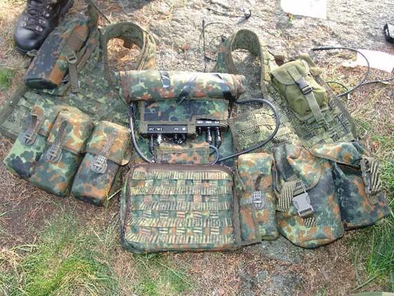 图文:德国国防军未来单兵战斗系统携行装备