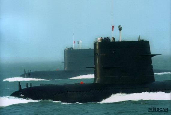 台湾媒体称解放军潜艇与美军航母对峙28小时