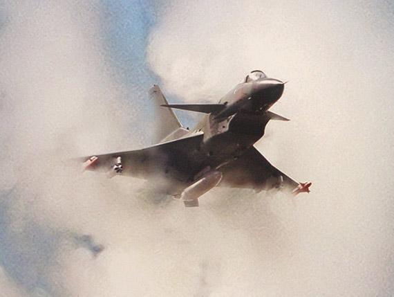 图文:中国空军计划装备250架高性能歼10战机