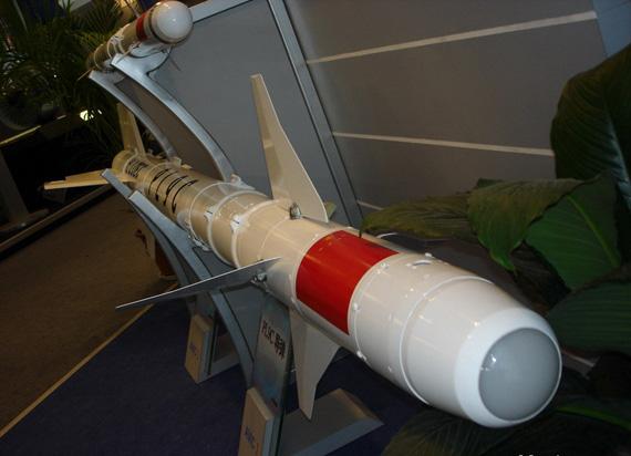 图文:中国霹雳-9C空空导弹