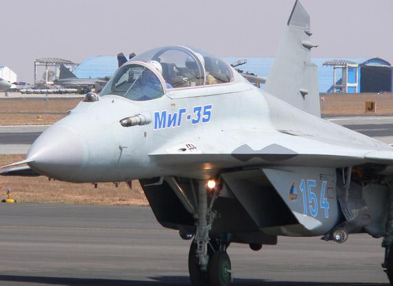 图文:俄产品质次价高让印度对米格-35战机好感不多