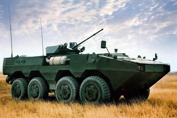 中国正研制8X8装甲车族步战型将首先装备军队