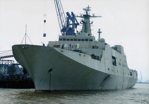两栖船坞登陆舰成为中国亚洲领导地位的象征