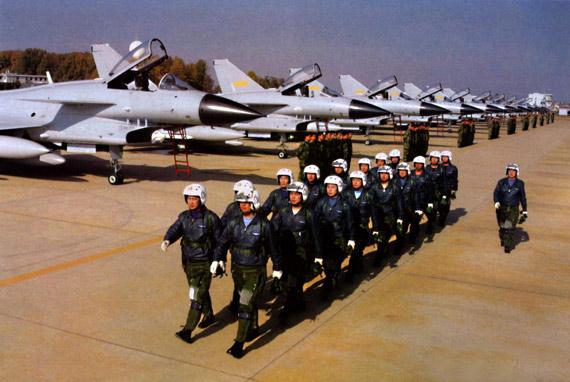 中印首次空军联合军演可能在2009年举行(组图)