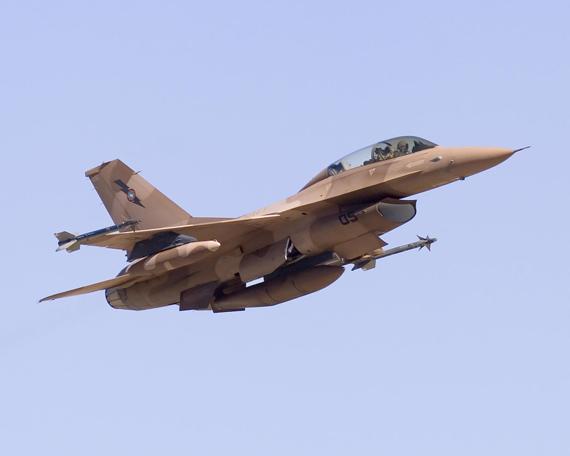 所有红旗演习空中任务都在内华达训练空域进行