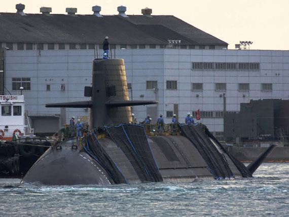 日本首代实战型AIP动力潜艇苍龙号性能点评(图)