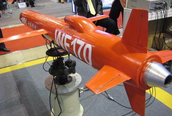 图文:与美制BGM-109不同该弹进气口在机体上后部