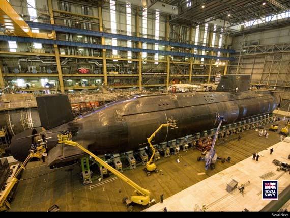 正在建造的英国海军机敏级核攻击潜艇