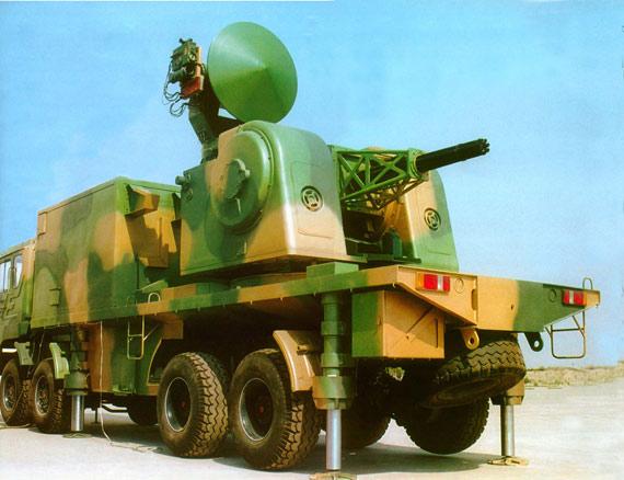 图文:陆盾2000近防系统是基于海军730系统而来