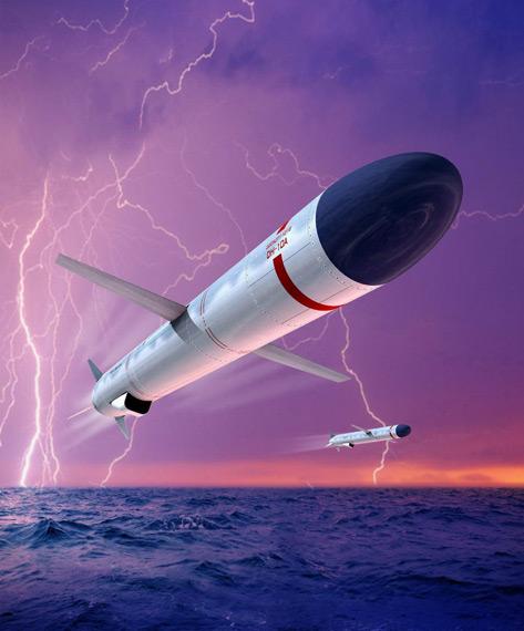 中国潜艇配备专用巡航导弹可摧毁美军核航母