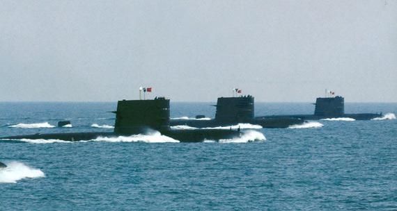 中国潜艇可用狼群战术对美航母发动压倒性攻击