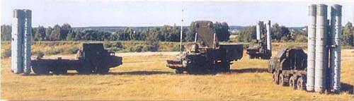 图文:俄防空部队S-300PMU导弹发射阵地
