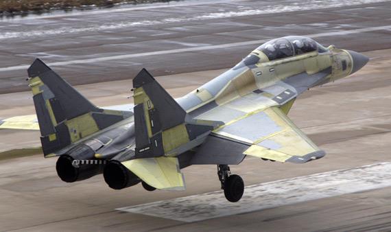 印度最新型米格-29K舰载机暂时没有航母可用