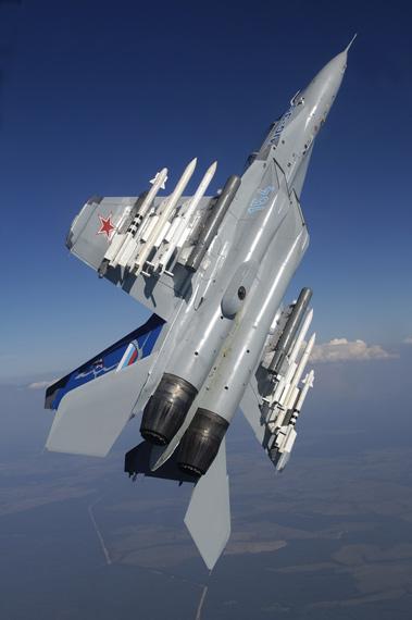 俄航空装备强势亮相范堡罗米格苏霍伊唱主角