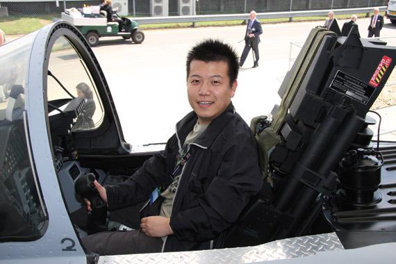 图文:体验台风战机